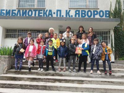 ПГ 6 на посещение в Детски отдел на библиотека Бургас - Изображение 1