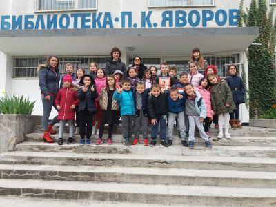 ПГ 6 на посещение в Детски отдел на библиотека Бургас - Изображение 3