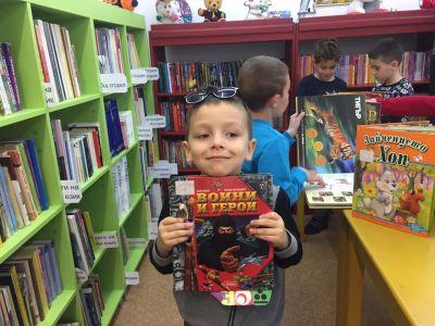 ПГ 6 на посещение в Детски отдел на библиотека Бургас - Изображение 4