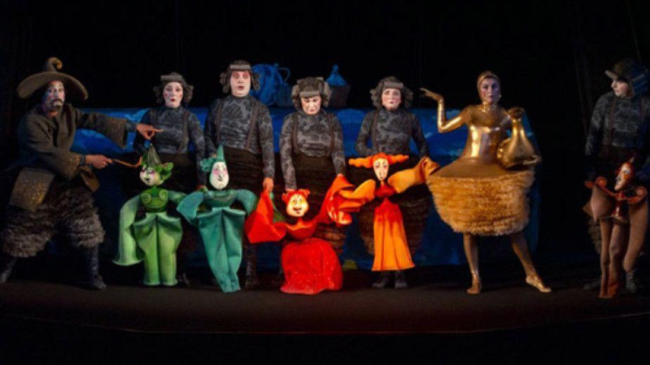 """Театрална постановка - """"Златната гъска"""" - голяма снимка"""