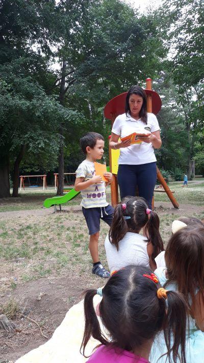 """Детска градина на открито"" - ДГ Звездица-Зорница - Бургас"