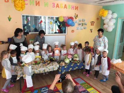 """Есенни зеленчуци"" - втори възрастови групи - ДГ Звездица-Зорница - Бургас"