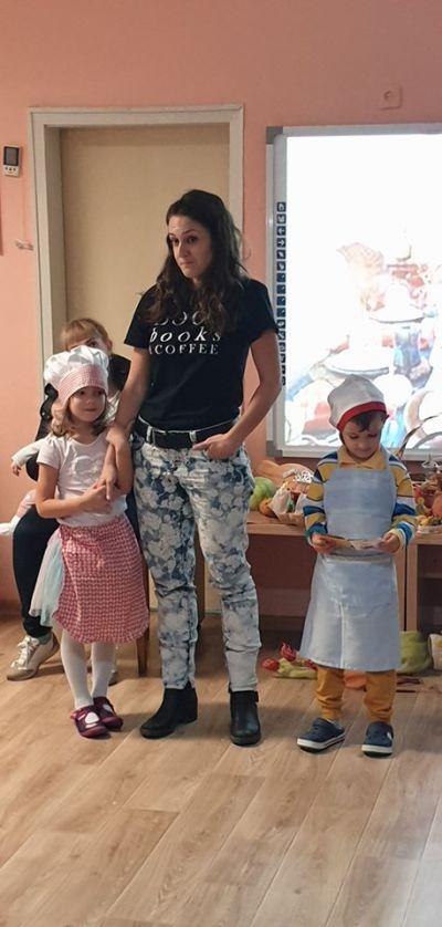 """Тиквата - вкусна и полезна"" ПГ6 групи - ДГ Звездица-Зорница - Бургас"