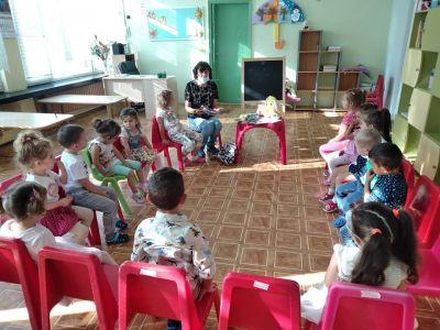 """""""Мишлето Гризи тръгва на детска градина"""" - първи възрастови групи 3"""