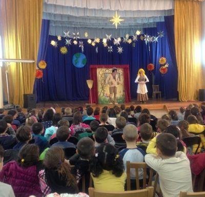 """Театър за деца - """"Три принцеси"""" 1"""