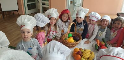 """Вкусни плодове и зеленчуци"" - първите групи - ДГ Звездица-Зорница - Бургас"