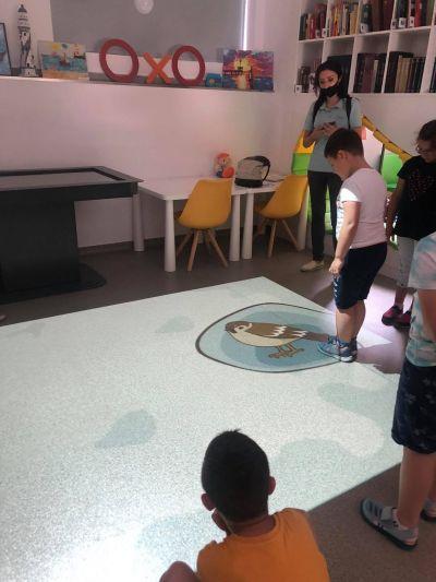 "Посещение на Регионална библиотека ""П. К. Яворов"" - ДГ Звездица-Зорница - Бургас"
