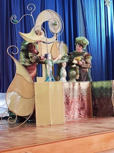 """Театър """"Принцесата и граховото зърно"""" - ДГ Звездица-Зорница - Бургас"""